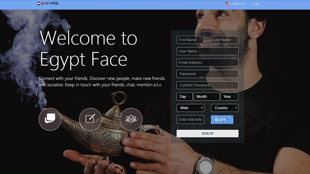 Egyptian version of facebook launched as 'Egypt Face' - Egypt