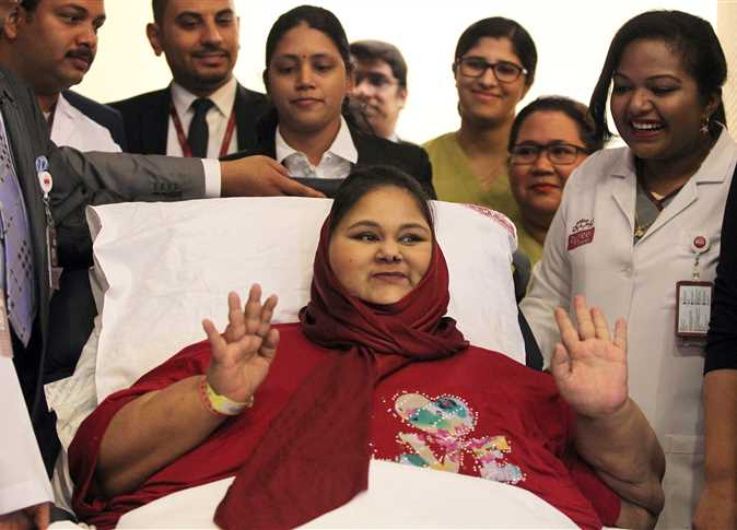 Eman Abdul Atti Once Known As The Worlds Heaviest Woman Passed Away Monday Morning Due To Complications From Heart Disease And Kidney Dysfunction