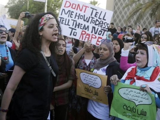64% of men admit to harassing women in Egypt's streets: report - Egypt  Independent
