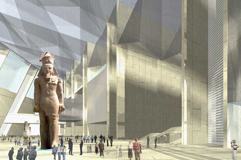 Egypt govt prepares ceremony for Grand Egyptian Museum opening