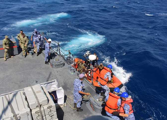 Egyptian, French naval forces carry out maritime joint training