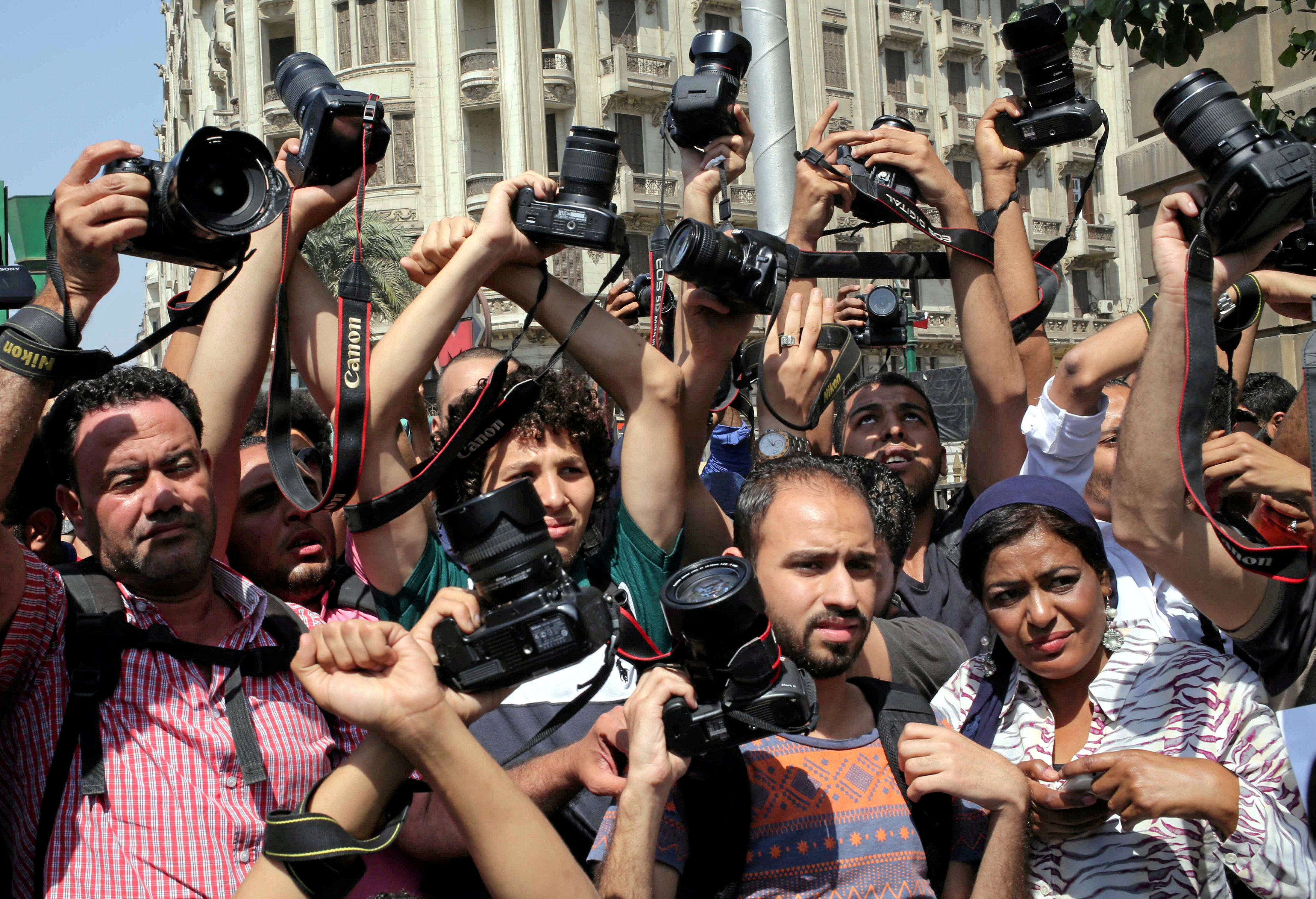 Cairo-based foreign reporters writing unprofessional election ...