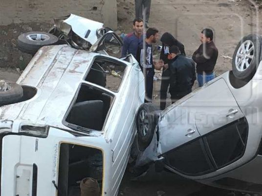 Housewife, two children killed in highway accident at Qena