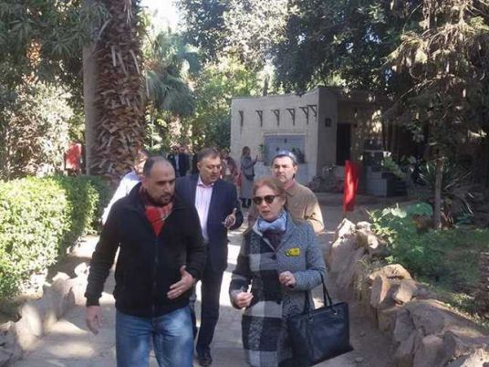 Russian Delegation Visits Mohamed Ali Palace With Grandson Of King