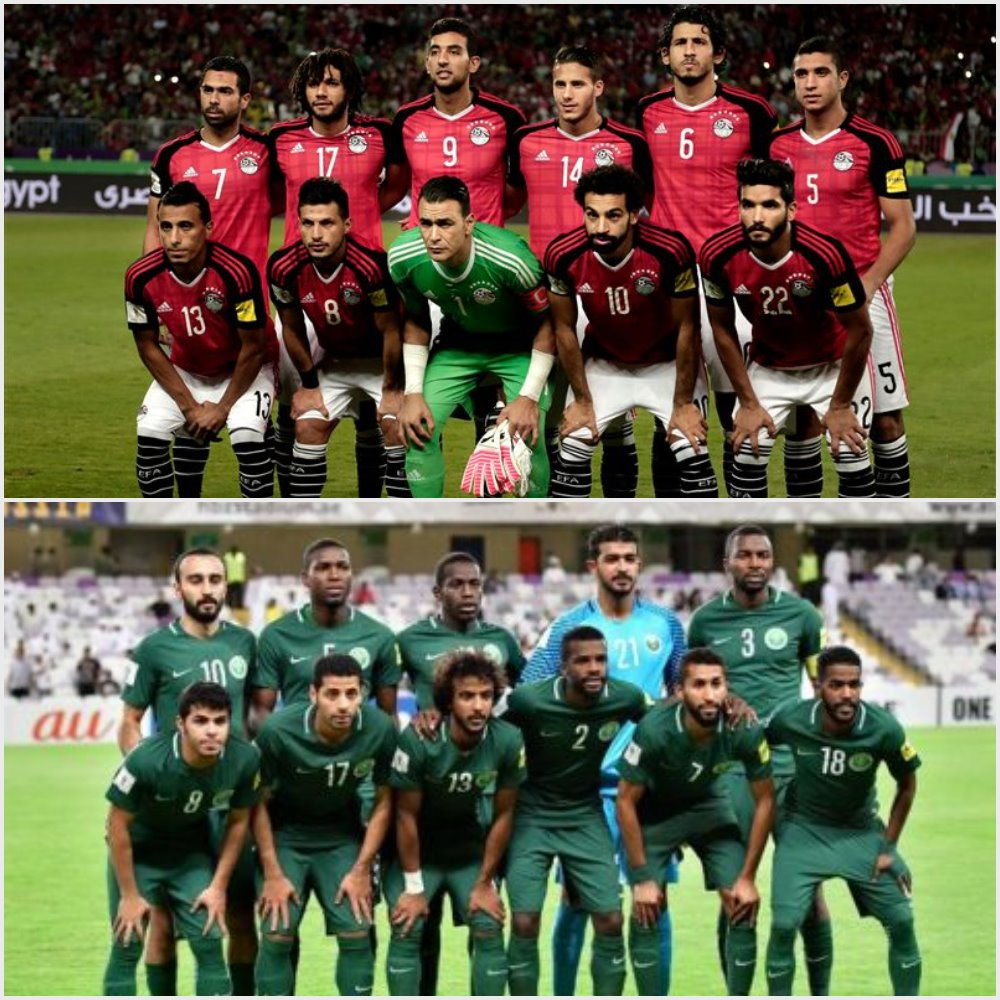 hot sale online 70390 f0029 Egypt, Saudi Arabia clash in the final World Cup match for ...