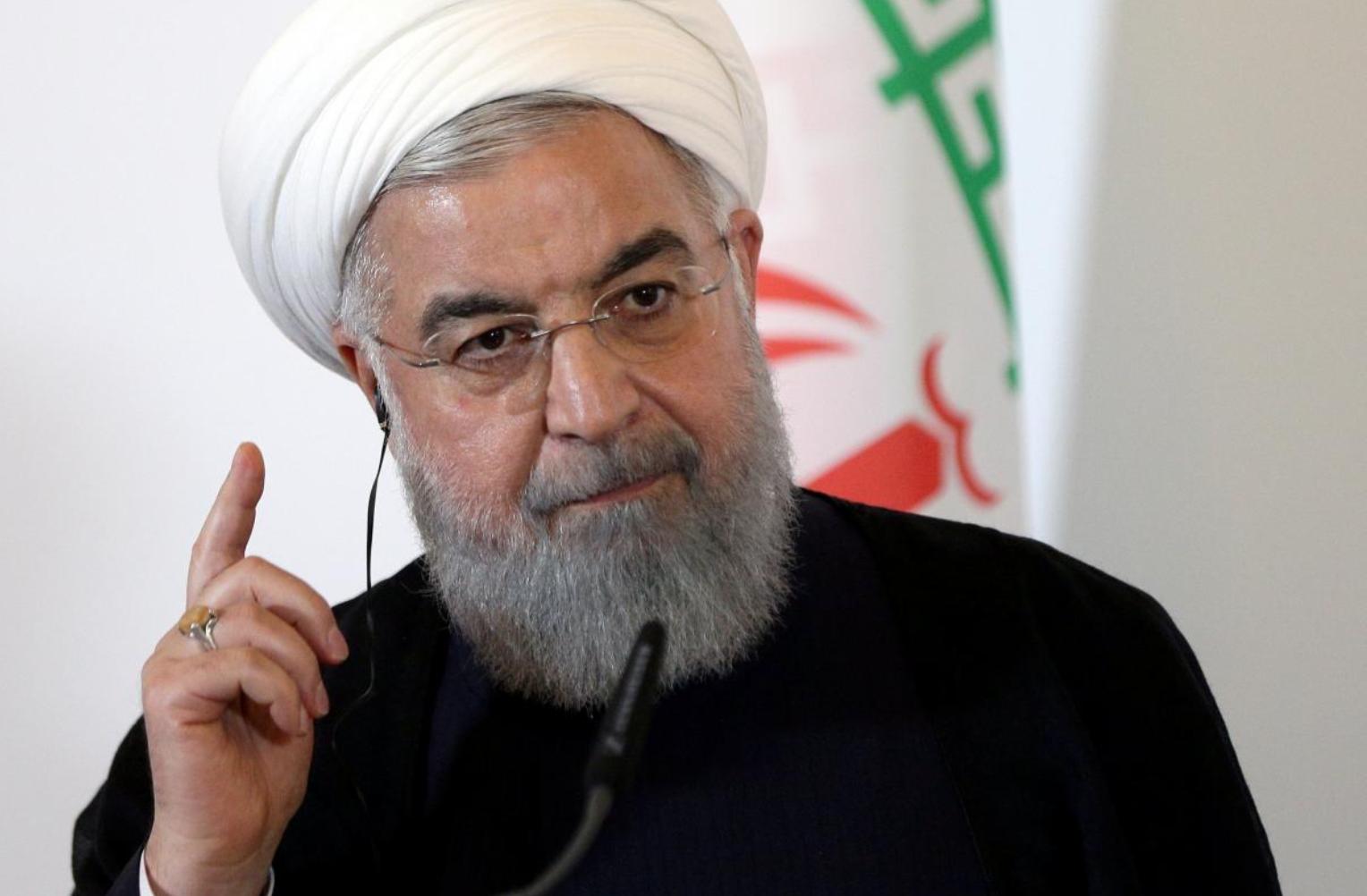 Iran's Rouhani says US sanctions are 'terrorist act'