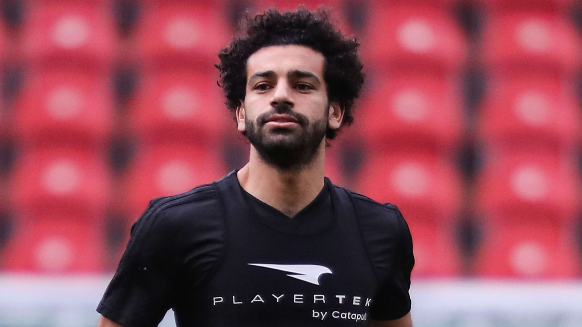 368fa8a89 Liverpool and Egypt s national football star Mohamed Salah resumed training  on Monday for the first time since his injury in the Champions League  finale