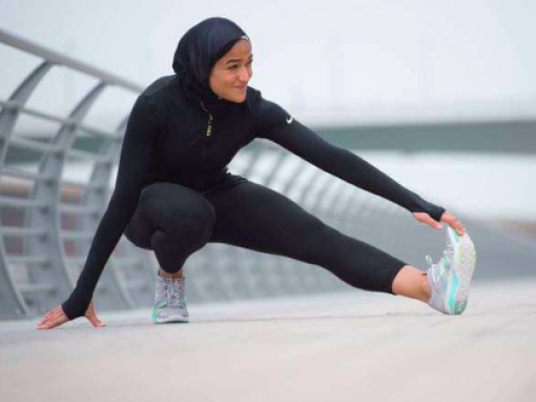 Obligar plato espectro  Nike features first Egyptian Muslim model in hijab - Egypt Independent