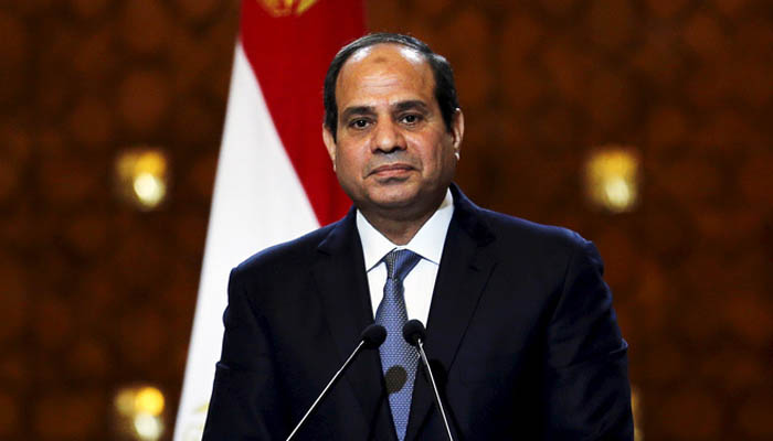 Egypt's leader faults media coverage of Khashoggi slaying