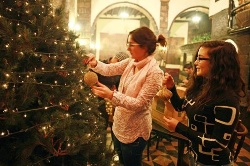 Demand for Christmas gifts in Egypt