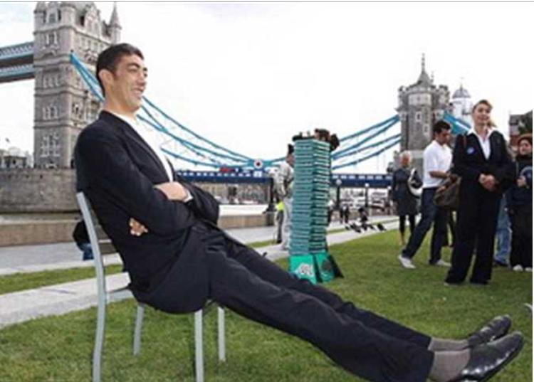 Tallest Man Shoe Size