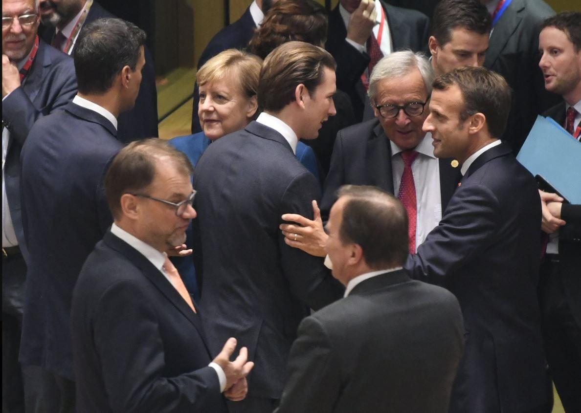 EU leaders plan to beef up borders to stop flow of migrants