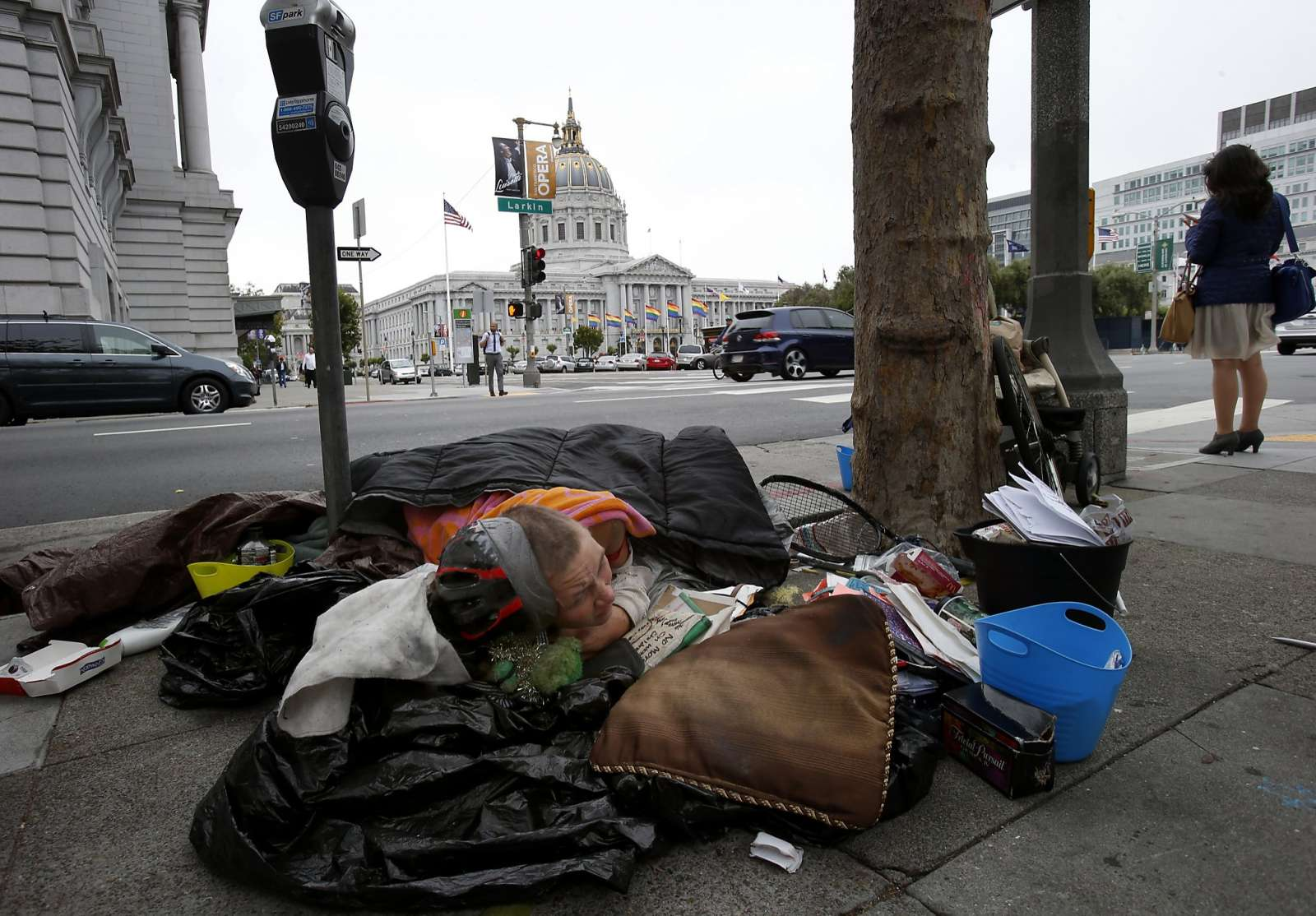 San Francisco to vote on taxing rich businesses for homeless