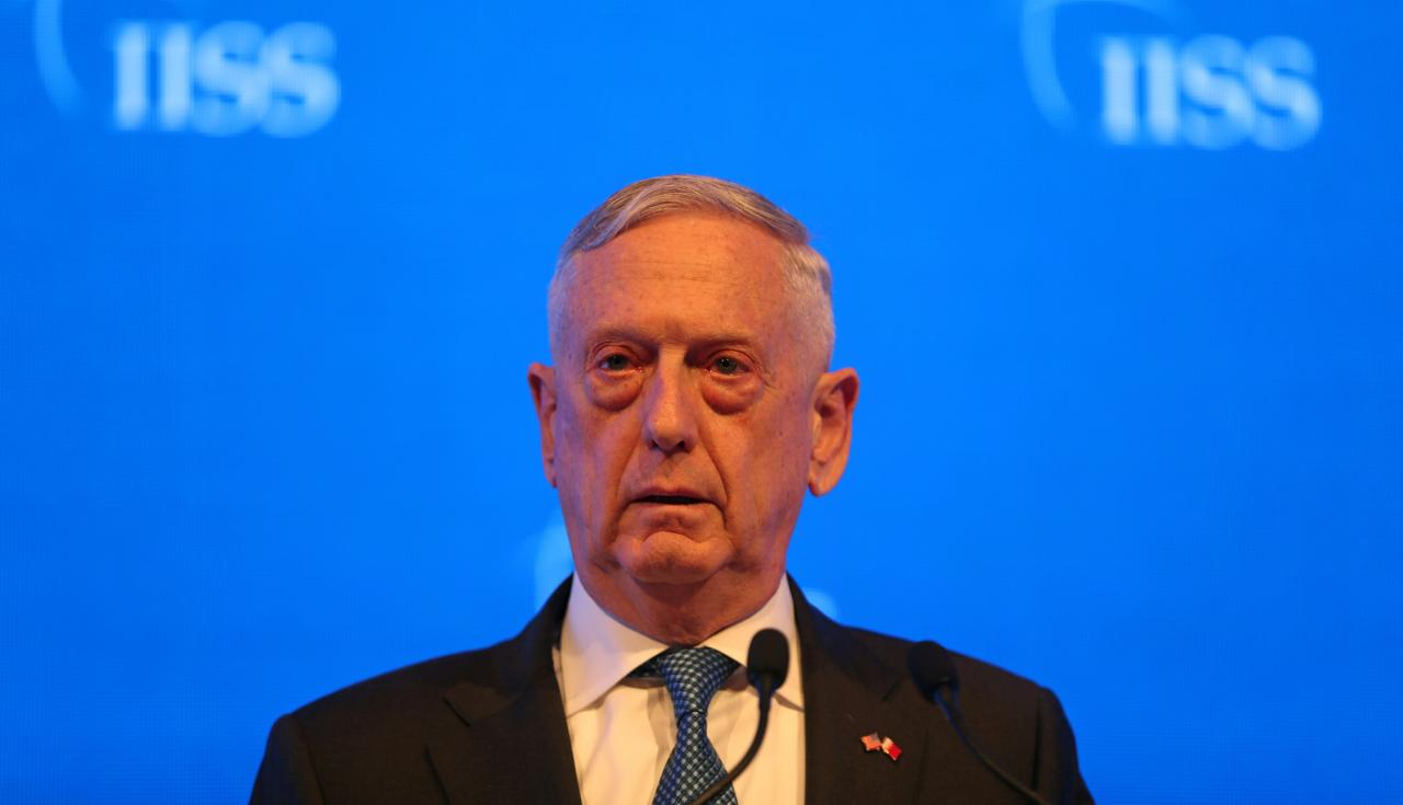 Trump Jabs At Mattis: I Gave Him A Second Chance