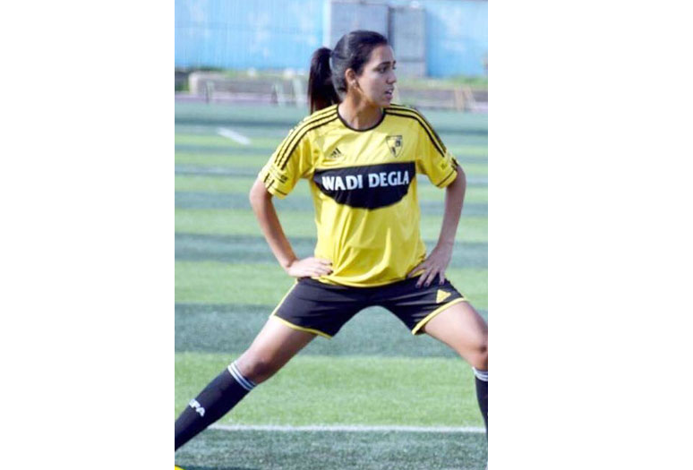 Egypt's 1st female EPL footballer wins 'Best Arab Sports Award'