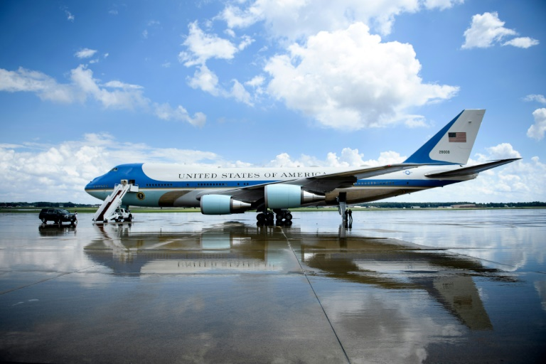 George H.W. Bush's Final Flights On Air Force One