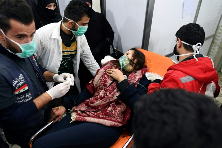 US Accuses Russia, Syria of Fabricating Story of Chemical Weapons Use