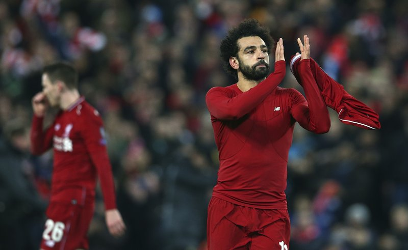 competitive price 18d91 fa0ca Mohamed Salah joins national team practice to prepare for ...