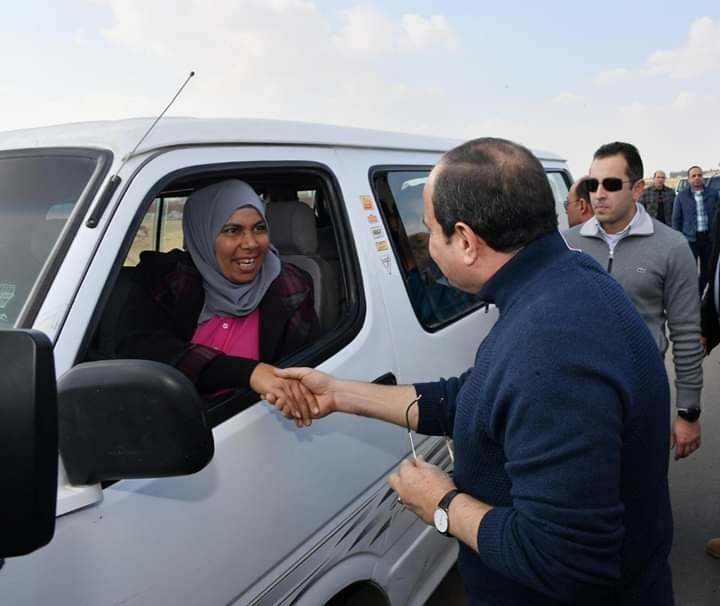 Sisi's phone call to female microbus driver was unplanned: MBC editor-in-chief