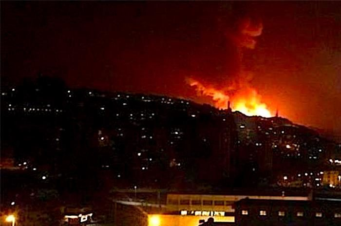 Syria says Israel fired missiles toward Damascus, hit airport warehouse