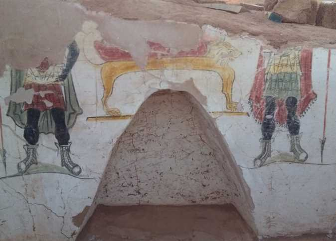 Two Roman tombs unearthed in Dakhla Oasis