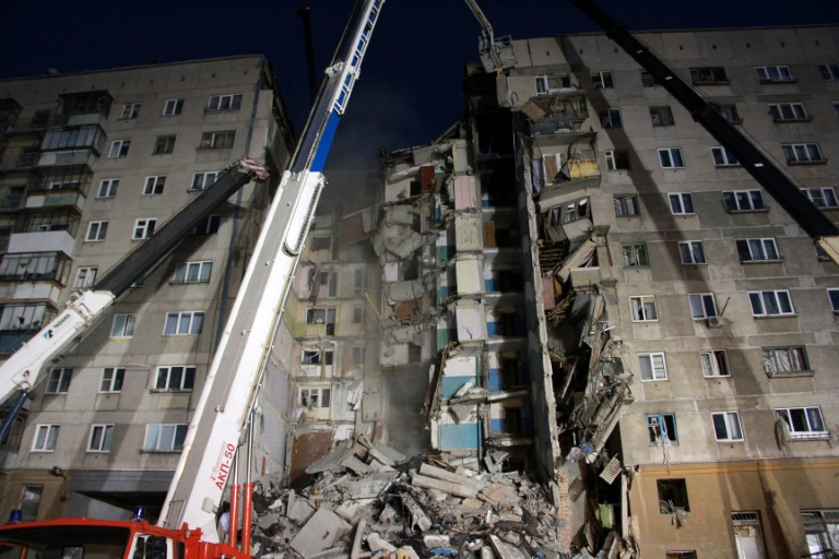 At least four dead in apartment building collapse in Russian Federation