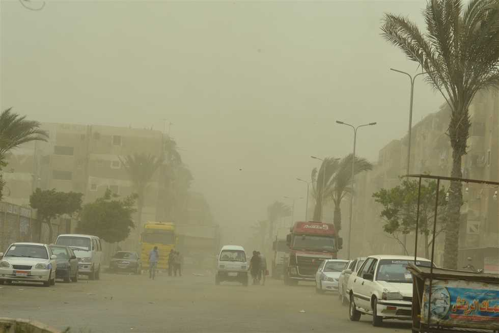 Windy, dusty weather for Egypt for three days