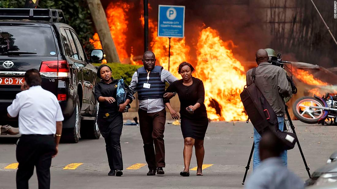 15 killed in ongoing attack on Nairobi hotel complex
