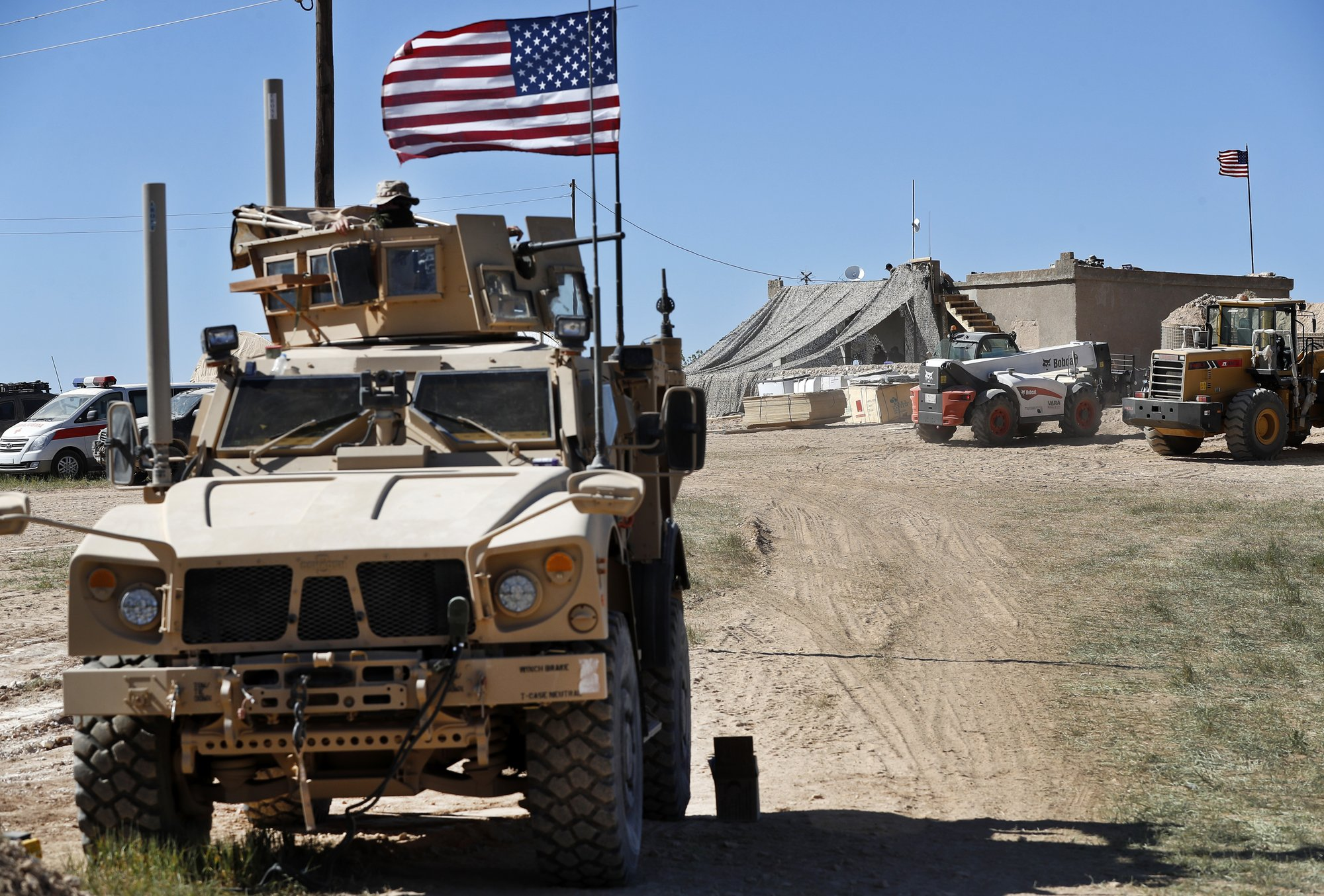 US withdrawal from Syria has started: official