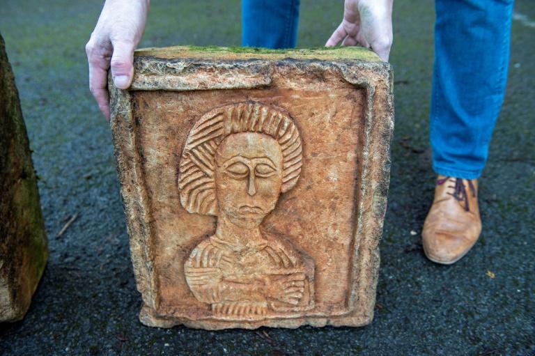 'Indiana Jones of art' finds stolen Spanish carvings in English garden