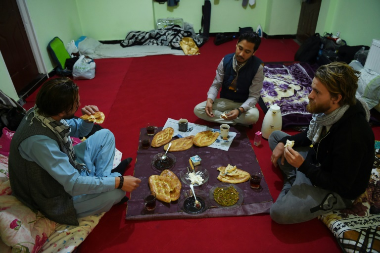 Tourists couchsurfing in war-torn Afghanistan
