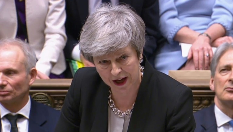 Three MPs abandon May over Brexit as UK political sands shift