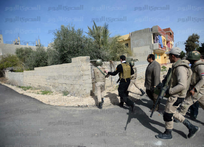 Interior Ministry: 7 security personnel, 4 terrorists killed in North Sinai