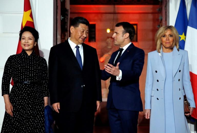 Xi, Macron hold talks as France seeks EU unity on China