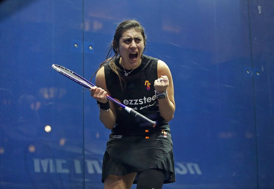 Nour El Sherbini makes history again: youngest athlete to