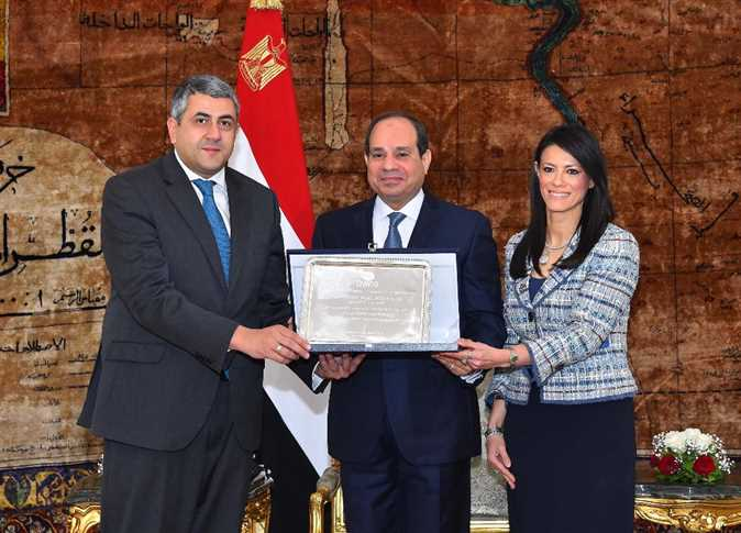 Sisi Tourism Minister Receive Unwto President Egypt Independent