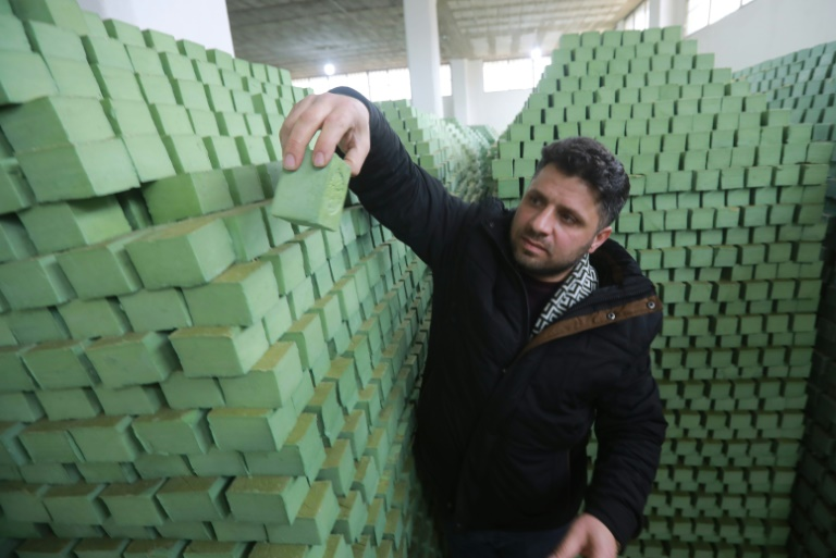 The scent of soap making returns to Aleppo