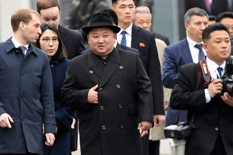 North Korea's Kim in Russia for first talks with Putin