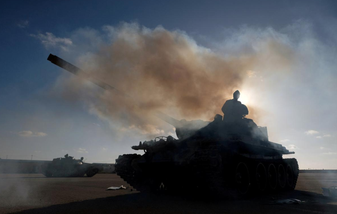 After Tripoli assault, Libya's next battle could be over banks