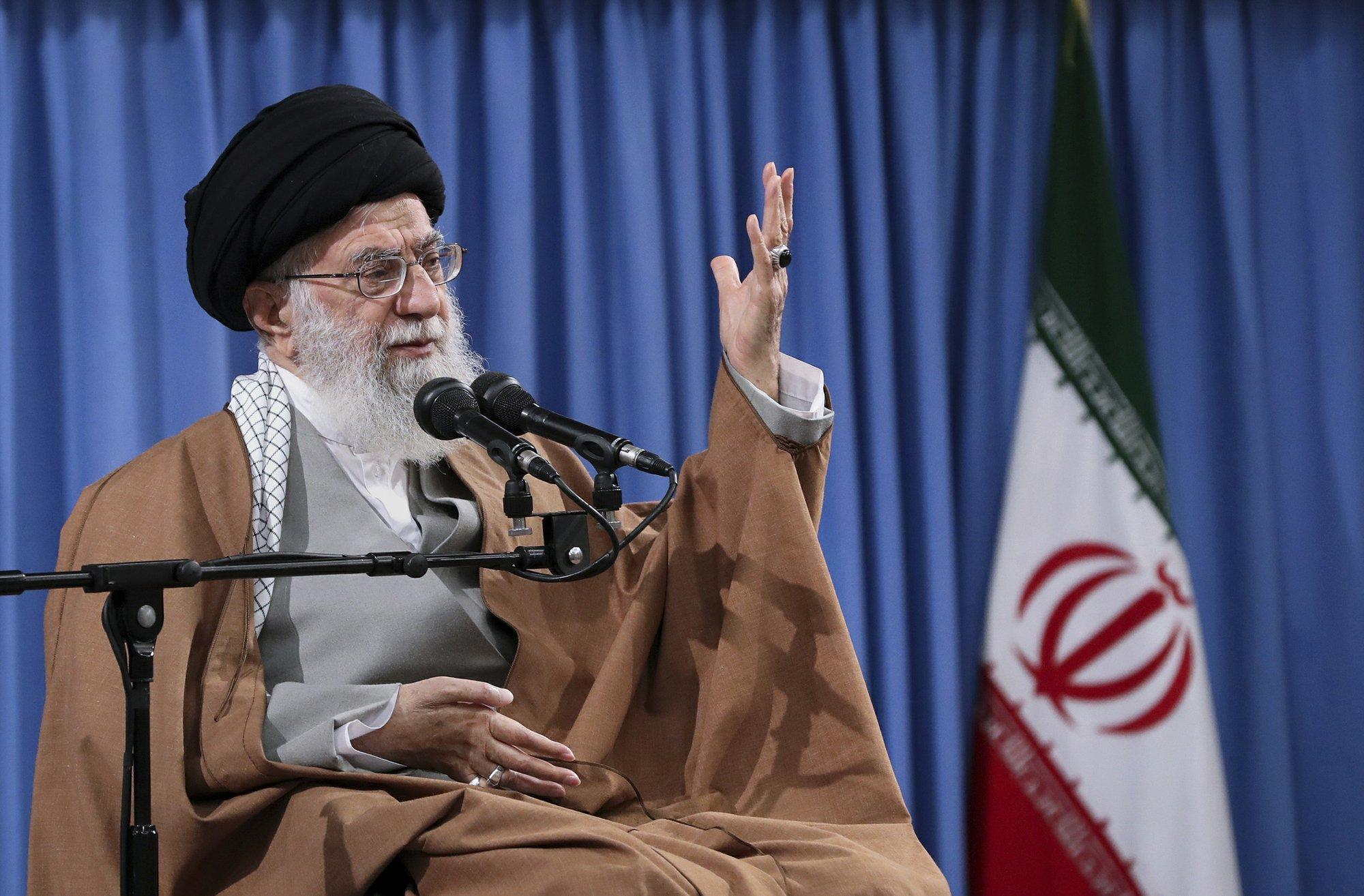 Iran says U.S. sanctions on Khamenei mean end of diplomacy: Tweet