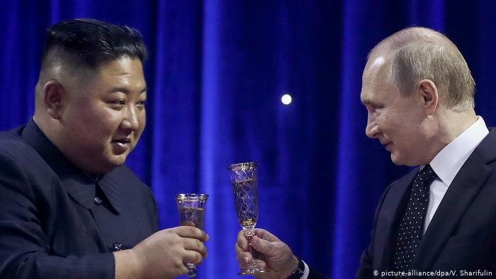 Kim Jong Un and Vladimir Putin end Vladivostok summit