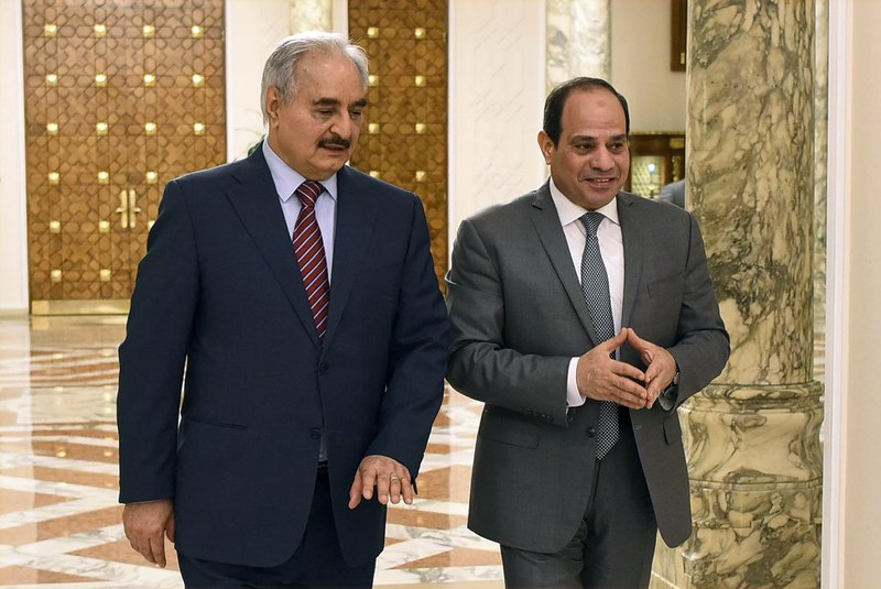 Egypt's Sisi heads to Berlin to participate in resolving Libyan crisis