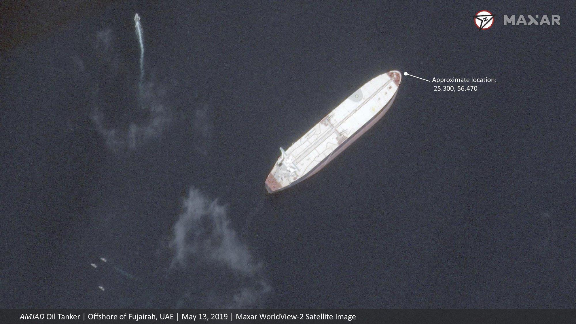 Satellite images show no major damage to 'sabotaged' ships - Egypt