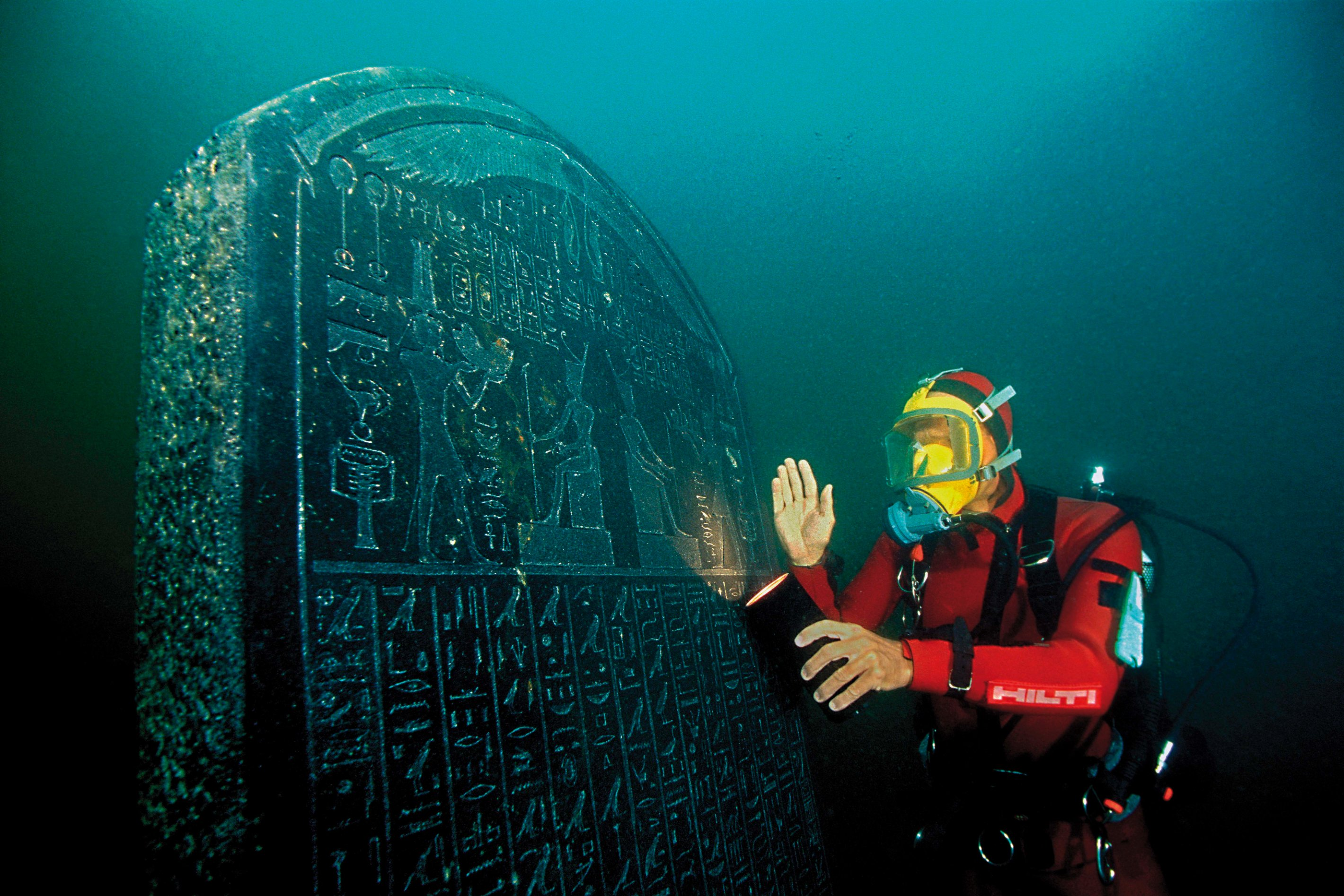 British Documentary On Egypt S Sunken Antiquities Comes To National Geographic Egypt Independent