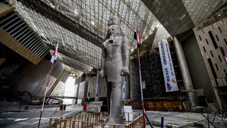Video First Promotional Video For Grand Egyptian Museum Finally Released Egypt Independent