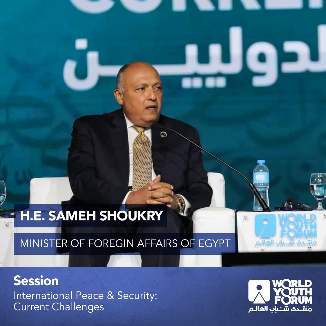 The incidents of 2011 destabilized international peace and security: Egypt's FM