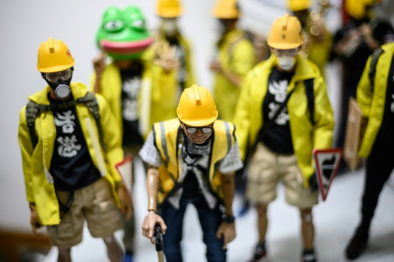 Toy Story: Hong Kong protest models become major hit