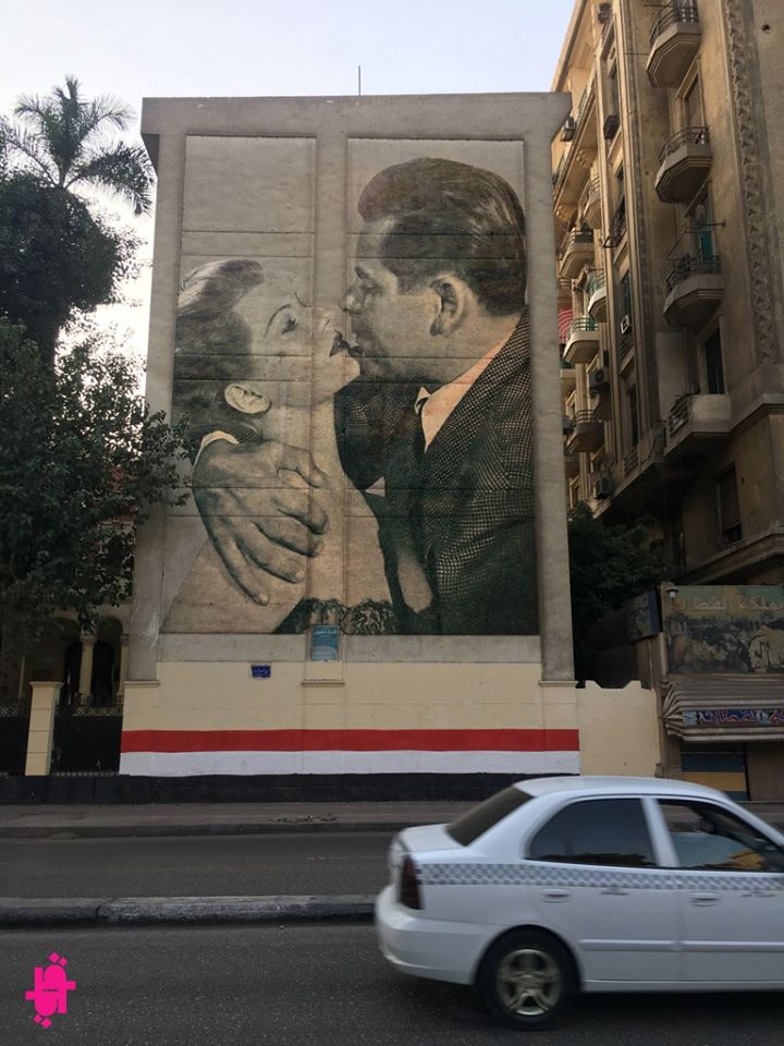 Italian artist revives Cairo's streets through photo editing