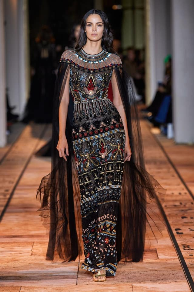 Photos Inspired By Ancient Egyptian Queens Zuhair Murad Captivates Fashion World In Paris Egypt Independent