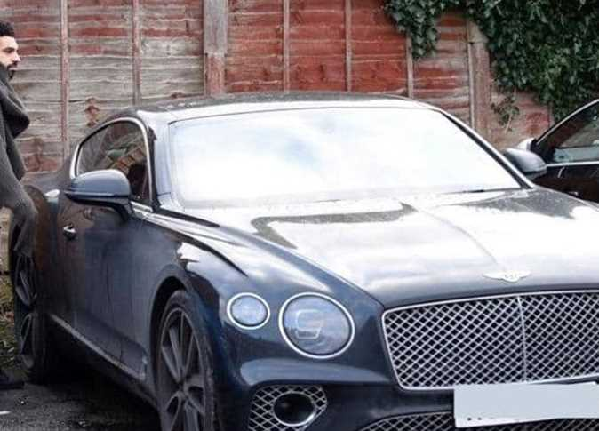 Bentley Continental Gt Newest Luxury Car In Mo Salah S Garage Egypt Independent